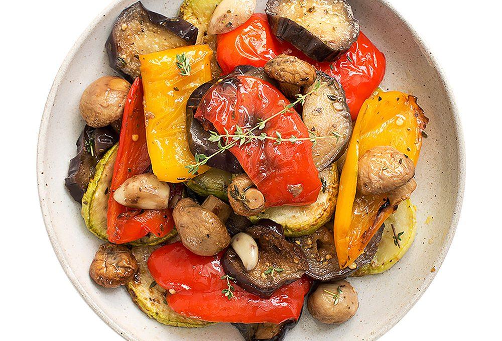 овощи запеченые