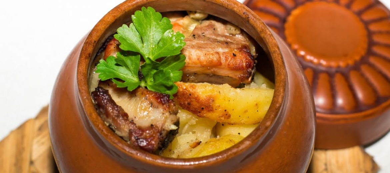 мясо по-домашнему (в горшочке)