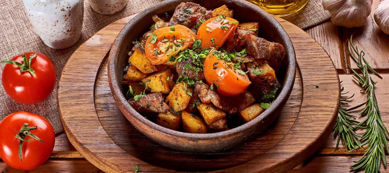 Мясо по-домашнему (оджахури)