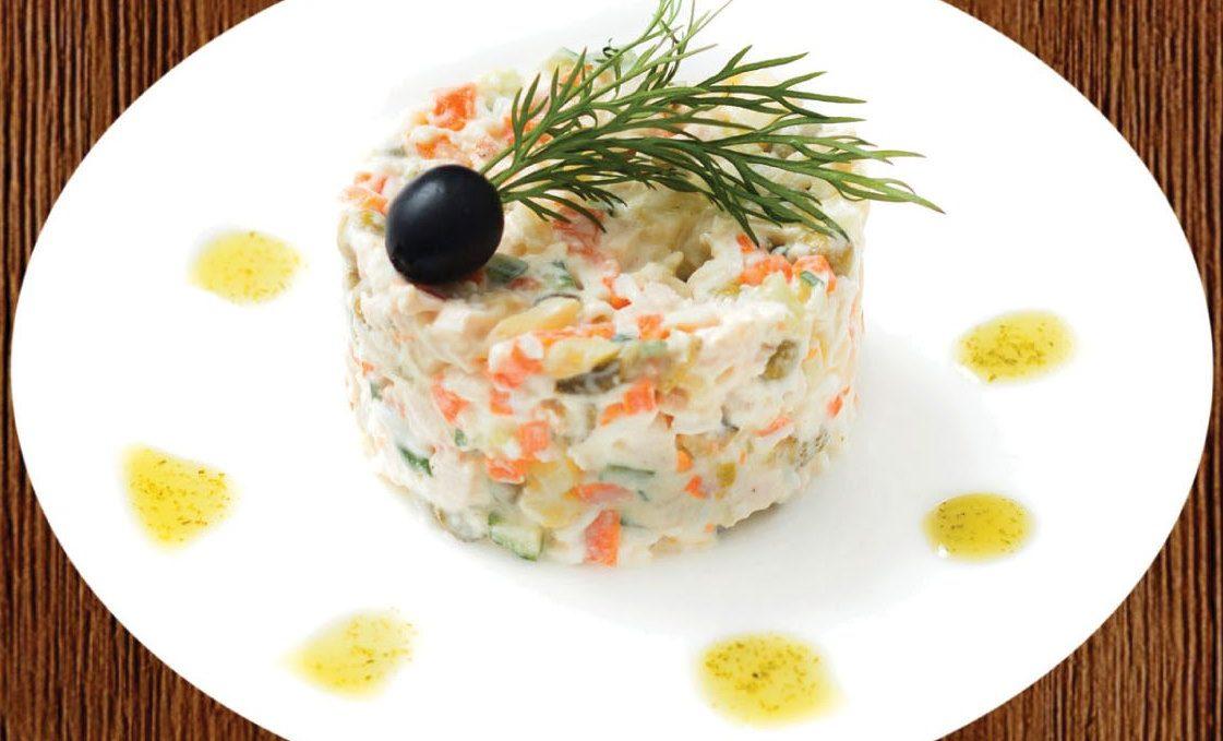 """салат """"столичный"""""""