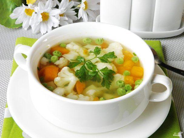 суп овощной