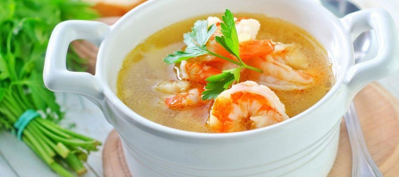суп рыбный